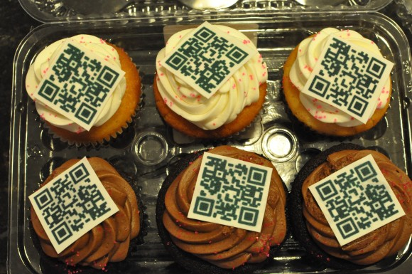 QR Code Cupcakes (By Amber Case)